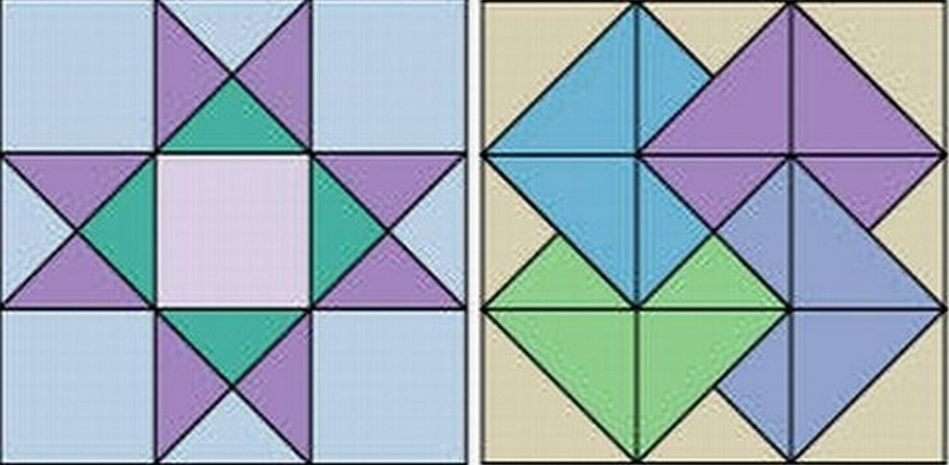 Составление блоков из заготовок делается, согласно выбранной схеме