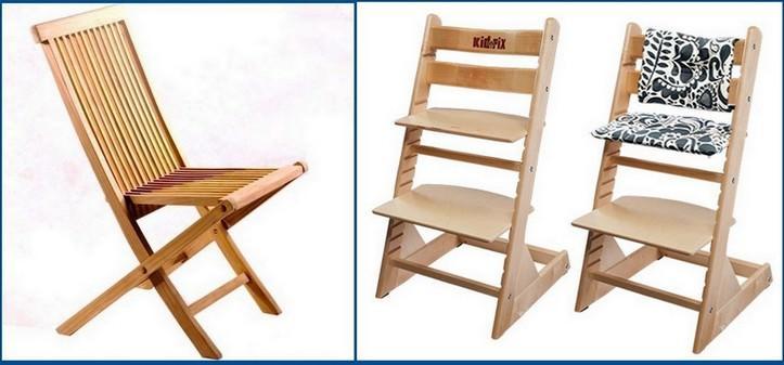 Обычный складной стул может выполнять несколько функций