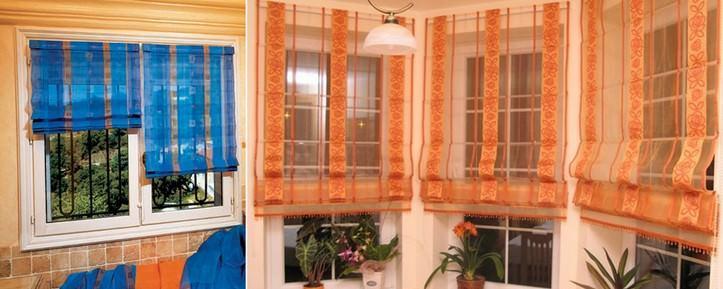 Как крепить римские шторы на пластиковые окна