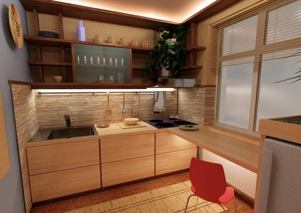 Умное и мастерское оформление даже маленькой кухни может сделать её очень удобной, функциональной и по-своему уютной