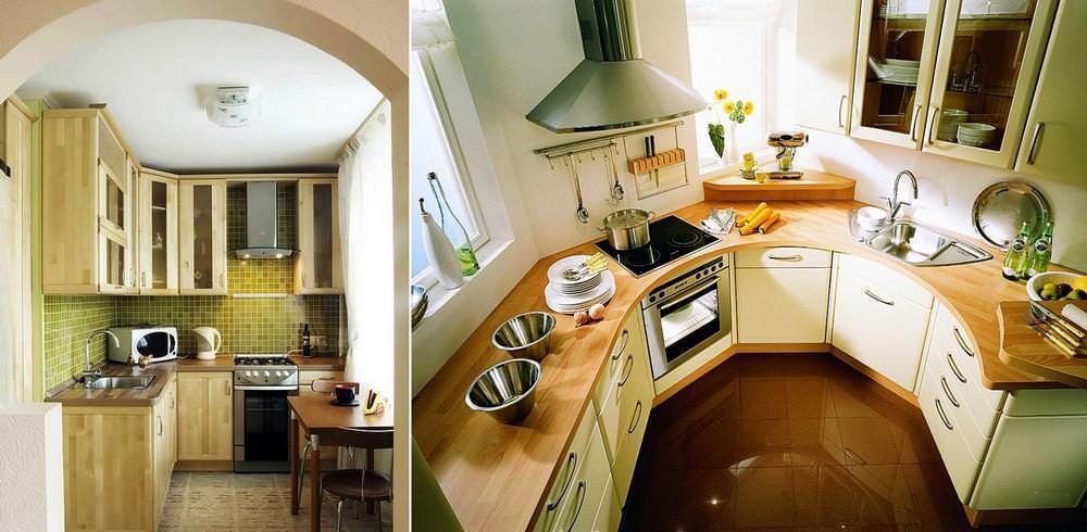 От расположения окна и общей планировки помещения будет зависеть будущий интерьер кухни