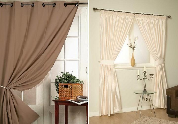 Бежевые шторы: фото цвета, коричневые шторы, какие подойдут к обоям в бежевых тонах, видео