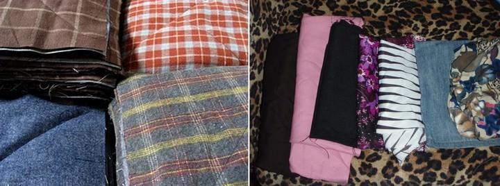 Чтобы сборка одеяла была без ошибок, детали можно пронумеровать или разложить по стопкам