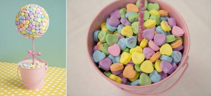 Топиарий из конфет - сладкое украшение любого праздика