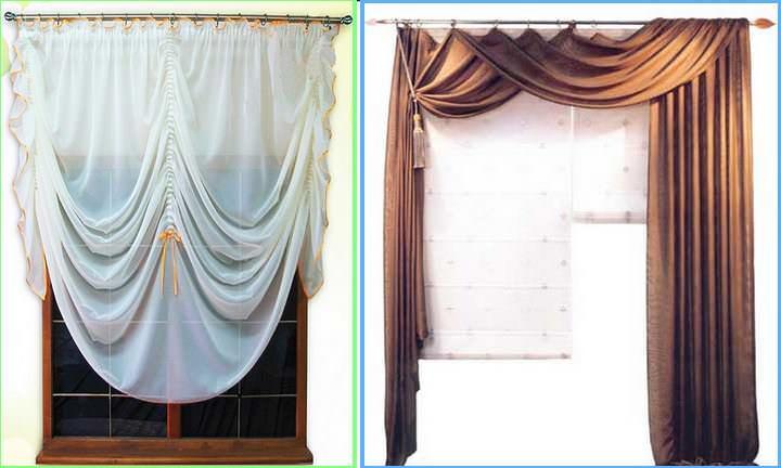Шторы на три окна