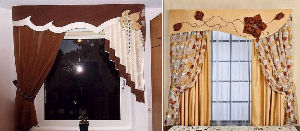 Такой декоративный элемент, как ламбрекен, может занимать не боле, чем 5 часть общего оформления окна
