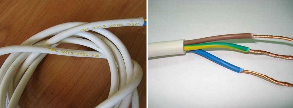 Проделать эту процедуру нужно с тремя проводами, которые образуют ствол