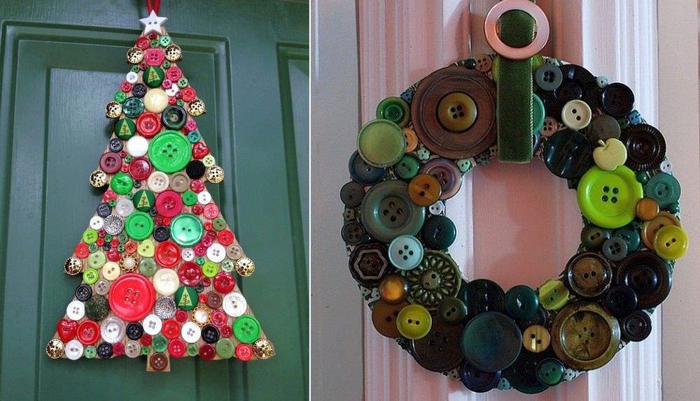 Новогоднее панно станет отличной поделкой для тематической выставки семейного творчества в детском саду, стильным подарком или прекрасным праздничным декором дома