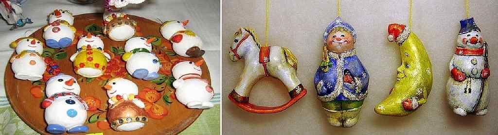 Во время процесса создания елочной игрушки ребенок развивает мелкую моторику рук и творческие способности
