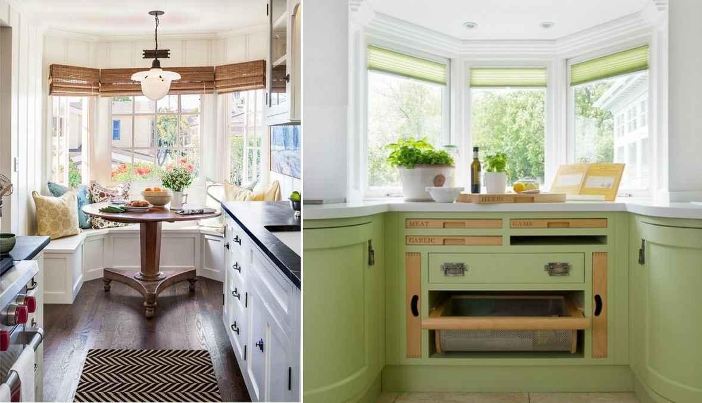 Для кухни лучше всего подойдут римские шторы: они выглядят компактно и выполнены из качественных материалов