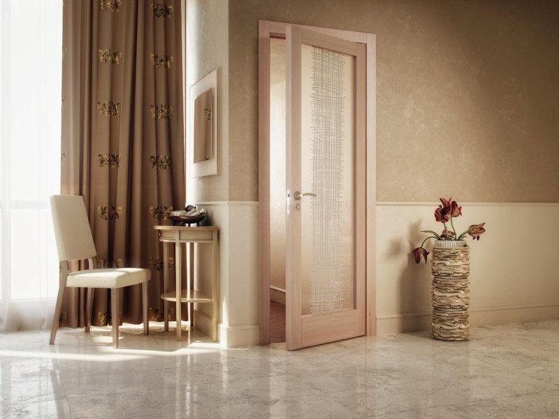 Цвет пола и межкомнатных дверей необходимо выбирать грамотно, чтобы они стильно дополняли интерьер помещения