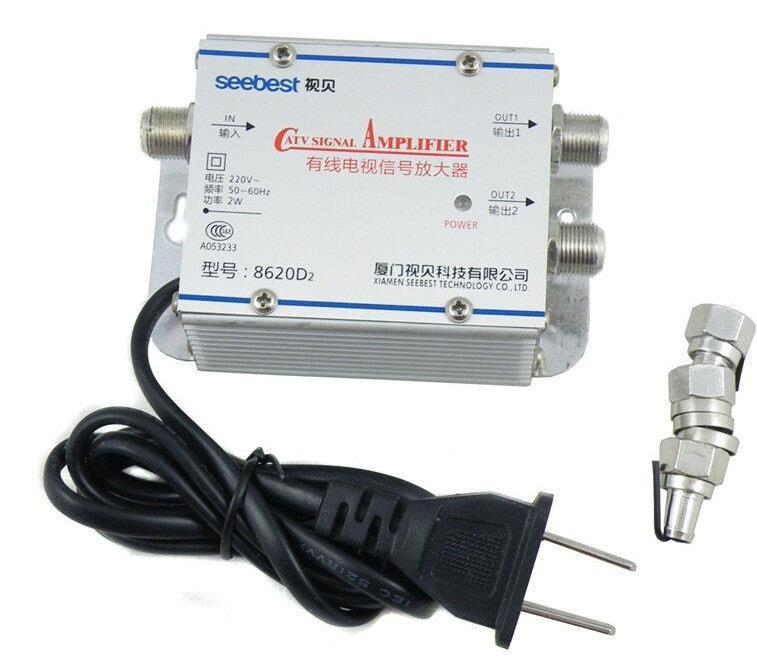 Существует большое количество усилителей для ТВ антенны, подобрать который можно при помощи специалиста