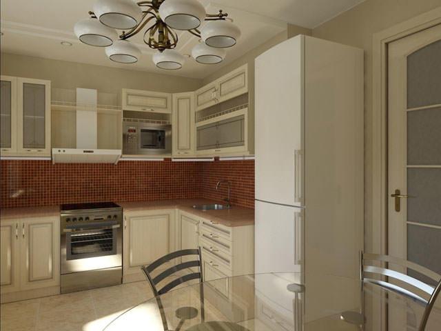 Кухня в классическом стиле - отличный выбор для кухни серии п30