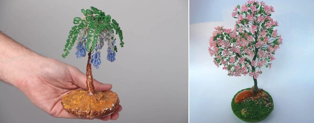Топиарии, или искусственно сделанные деревья — это необычный и современный подарок handmade, который будет актуальным на любой праздник