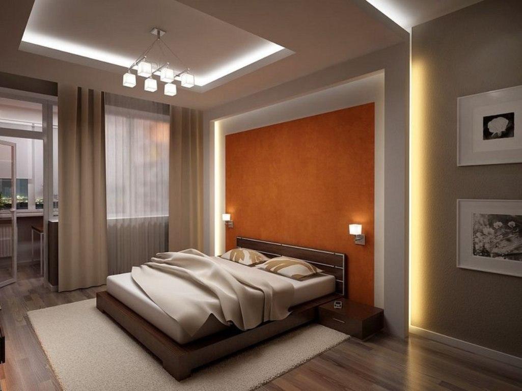 Освещение в спальне: лампы прикроватные, свет в гостиной, тумбочки в интерьере современные, фото комнат
