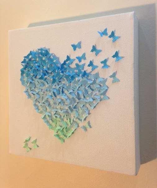 Бабочка — символ веры, надежды и любви: неудивительно, что ее часто изображают на оберегах, картинах или других объектах искусства. Панно тоже не стало исключением