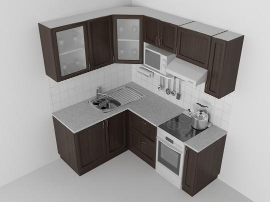 Продумывая варианты дизайна кухни брежневки, рекомендуем придерживаться светлых оттенков