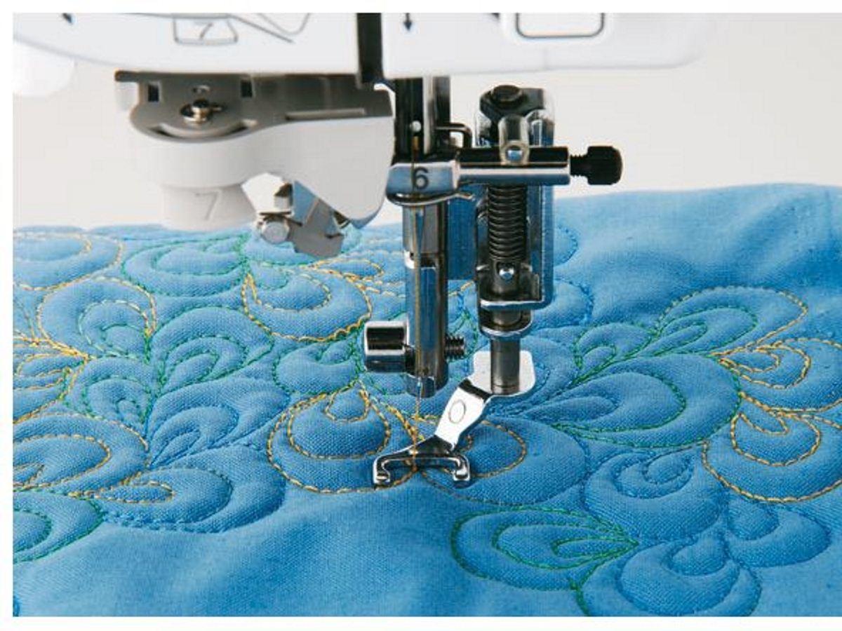 Для того чтобы начать шить в технике квилтинг, вам понадобится стандартная лапка