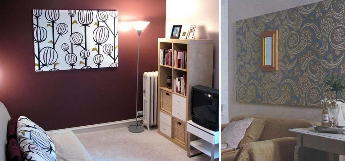 Оптимальный вариант размещения панно — свободная стена, оно должно быть единственным на стене, не надо вешать к ней другие картины или фотографии