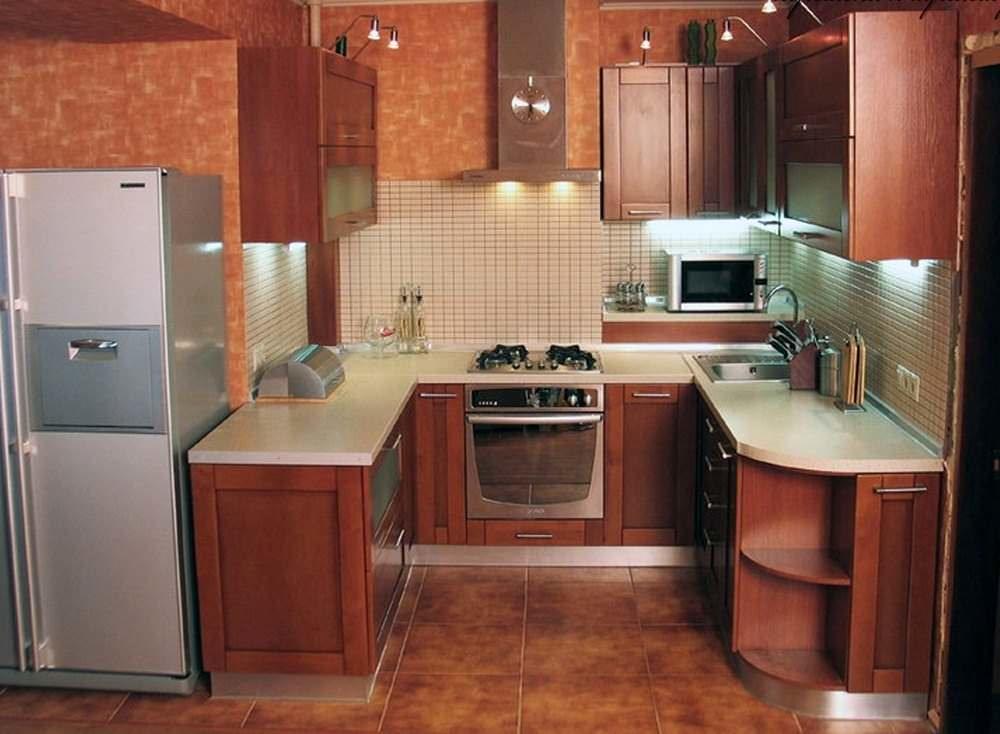 Благодаря угловым кухням гармонично преобразуется пространство