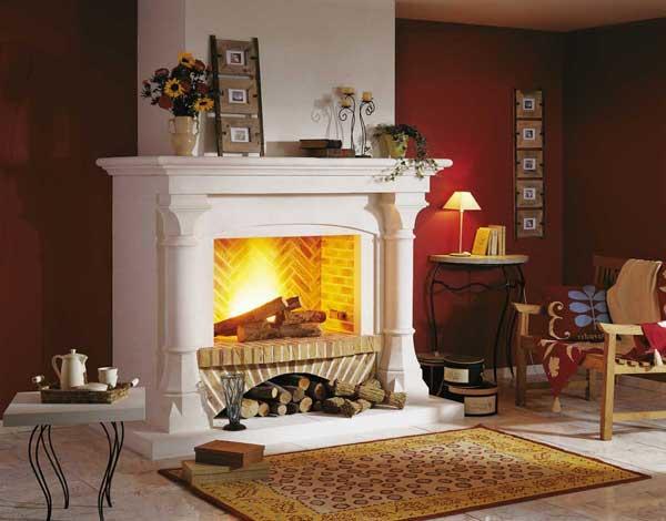 Электрокамин создает отличную атмосферу уюта и тепла