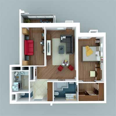 Грамотный перенос позволит сделать кухню просторной и стильной!