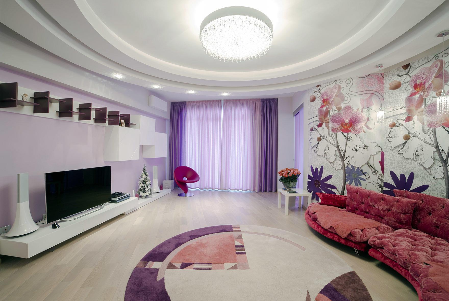 Яркие интерьеры гостиной: тона и акценты стен, цвета для дизайна, фото красивые и цвета не пропустить
