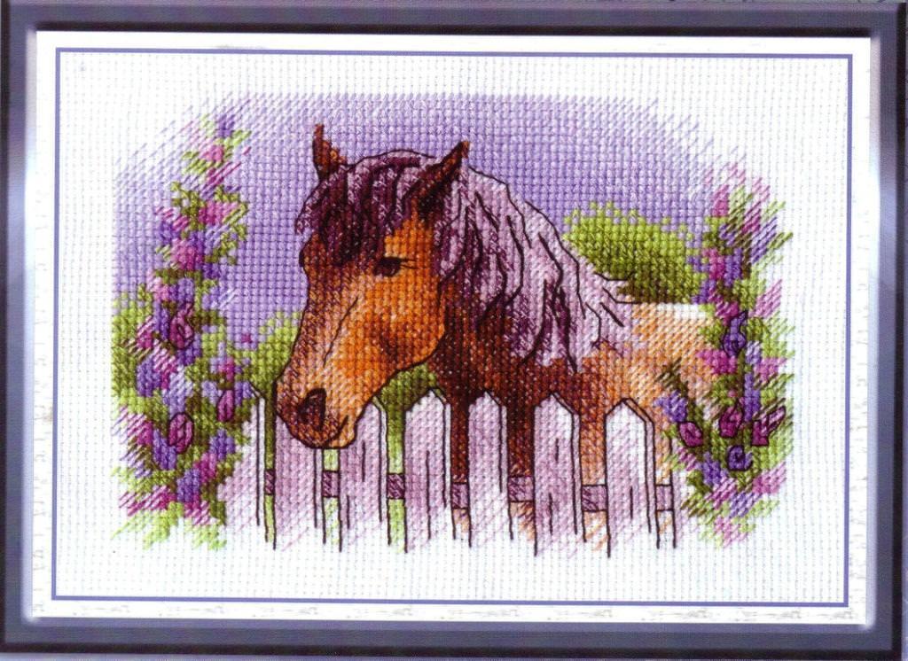 Вышитая лошадь – это символ доброй славы, оптимизма и выносливости