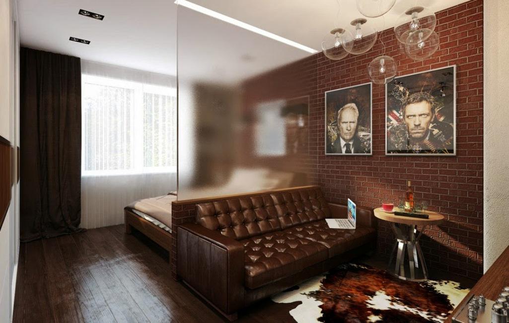 Для того чтобы гостиная-спальня была функциональной, необходимо правильно зонировать пространство