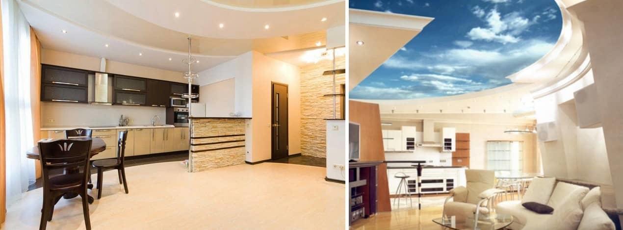 Натяжной потолок — идеальное решение для создания неповторимого стиля <i>дизайны квартир с натяжными потолкам</i> или дизайна вашей комнаты