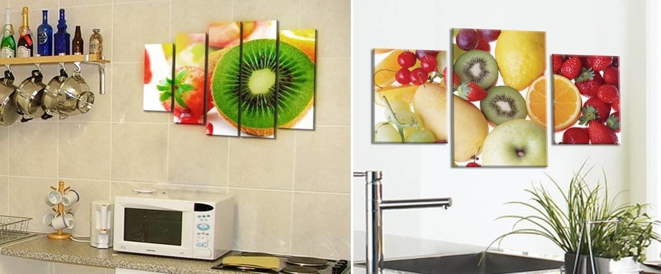 Модульные картины представляют собой целостную композицию, они могут выполняться в различных техниках