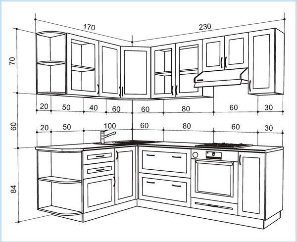 Для создания неповторимого дизайна мебельных конструкций, необходимо знать, как составить их чертежи