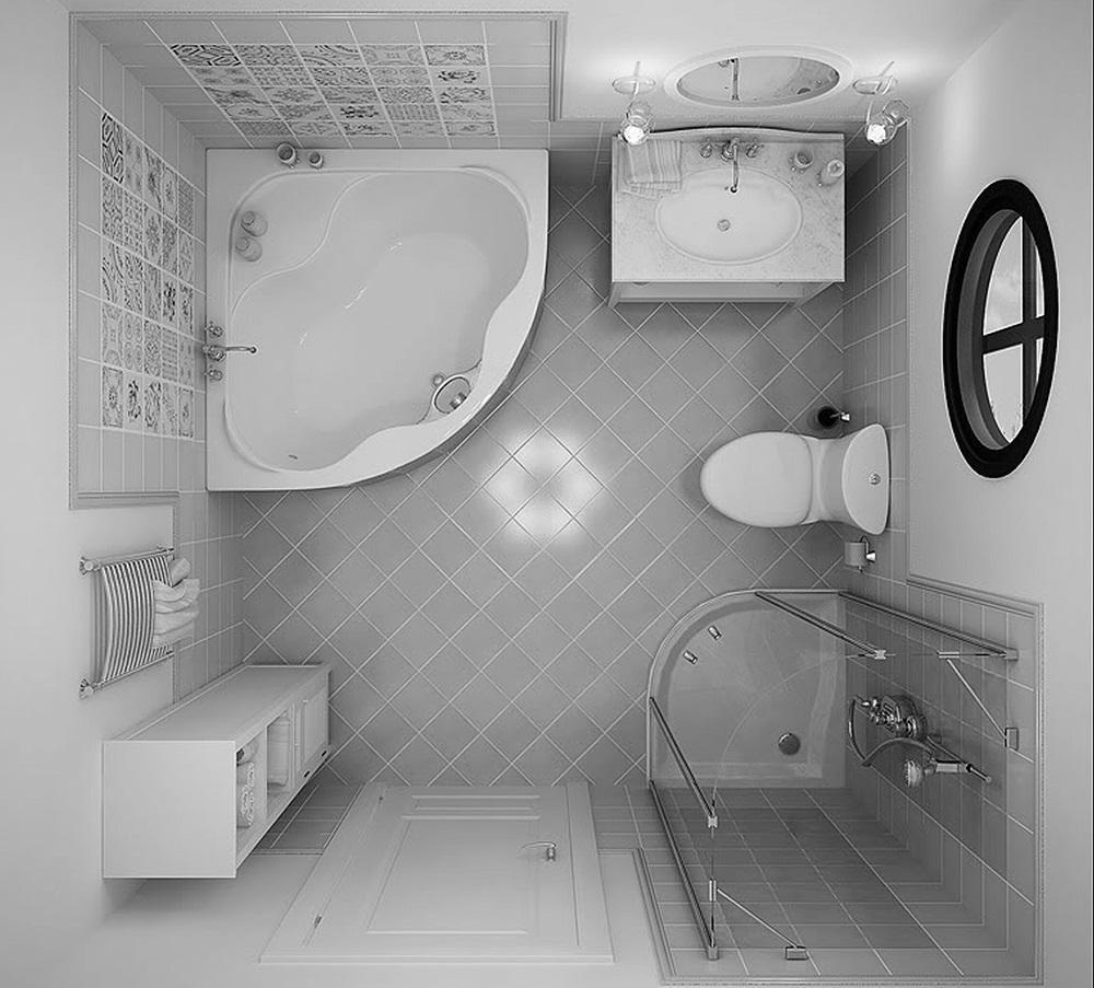 Составить план ванной комнаты 4 кв. м можно с помощью специальных программ на компьютере