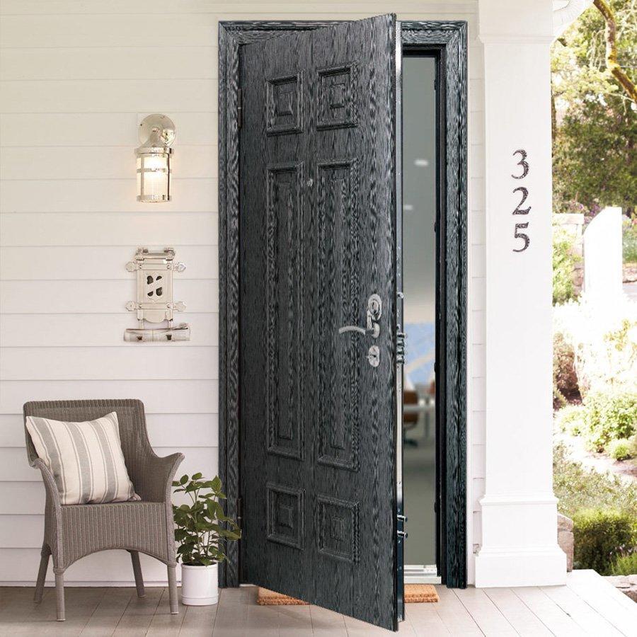 Как вставить железную дверь своими руками