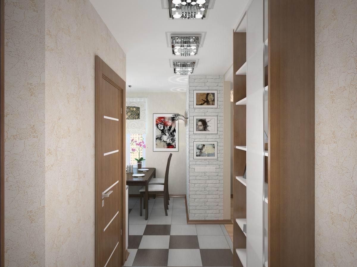 Особое внимание при обустройстве маленькой прихожей дизайнеры рекомендуют обратить на выбор осветительных приборов