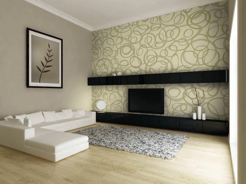С помощью сочетания краски и обоев можно скрыть все дефекты и придать помещению стильный и привлекательный вид