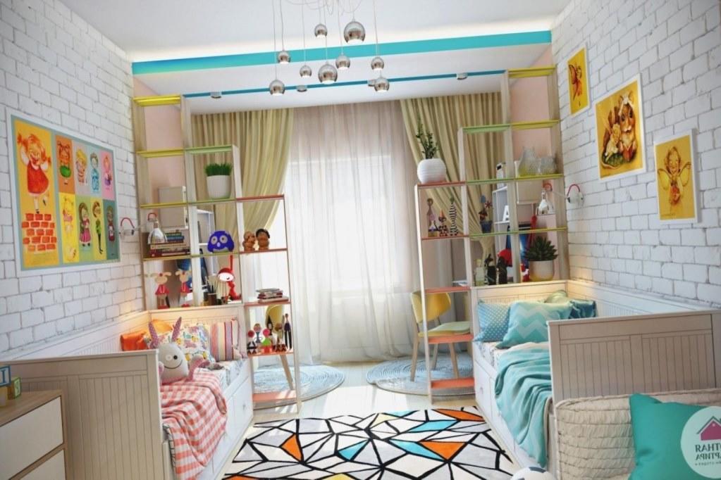 Подбирая мебельный гарнитур для детской комнаты, обязательно нужно учитывать его безопасность и практичность