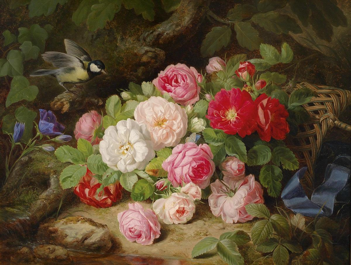 Тарелка, выполненная по технике декупаж, на которой изображена роза, является отличным подарком