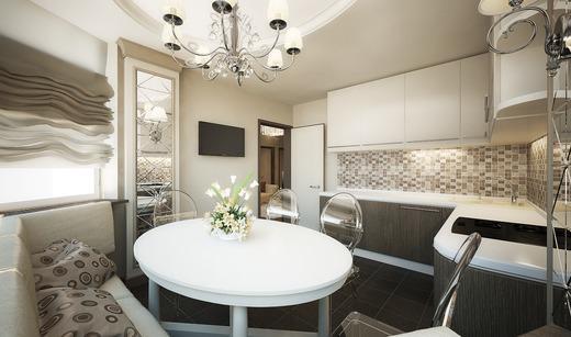 Кухня в доме п44т - полноценное помещение для приготовления еды и отдыха
