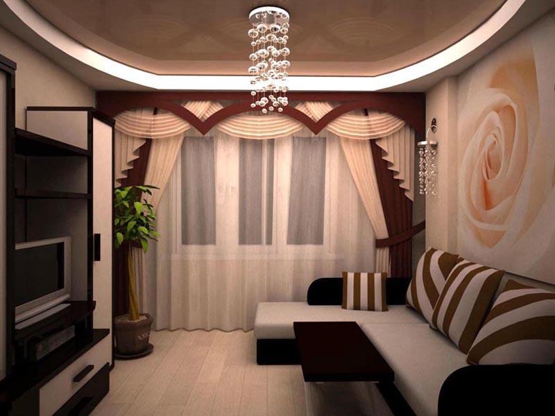 Перед тем как приступать к ремонту зала, необходимо определиться с дизайном помещения