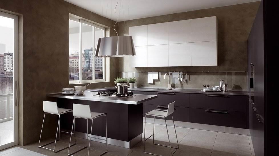 П-образная планировка кухни - образец функциональности и изысканного дизайна