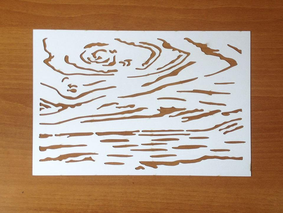Трафарет для декупажа: распечатать своими руками, мастер-класс со шпаклевкой