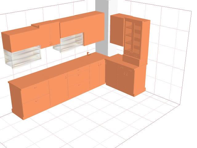 Вентиляционный короб в углу кухни - отнюдь не трагедия, ведь его можно грамотно оформить, скрыв от глаз