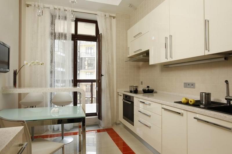 Высокая функциональность – главное условие обустройства кухни 8 кв м