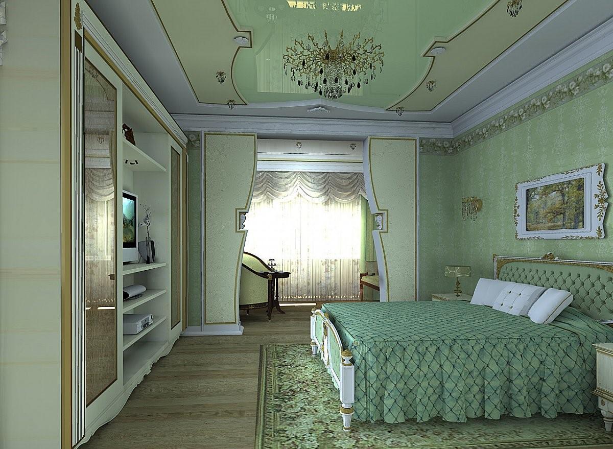Спальня должна располагаться в том месте дома, которое наиболее подходит домочадцам
