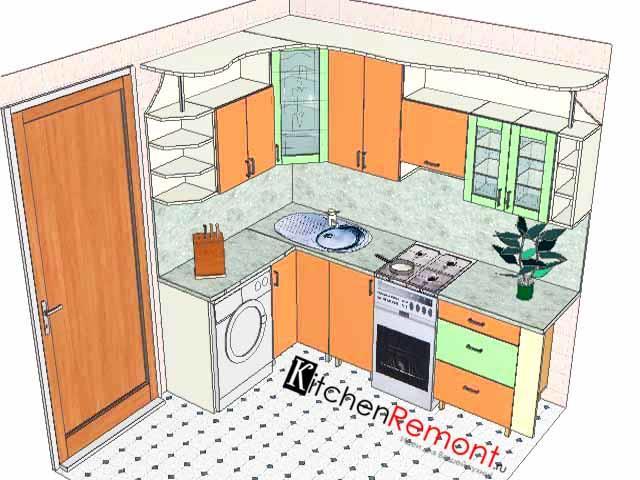 Маленькая кухня тоже может быть удобной и функциональной, главное - грамотно составить проект и не торопиться в этом деле