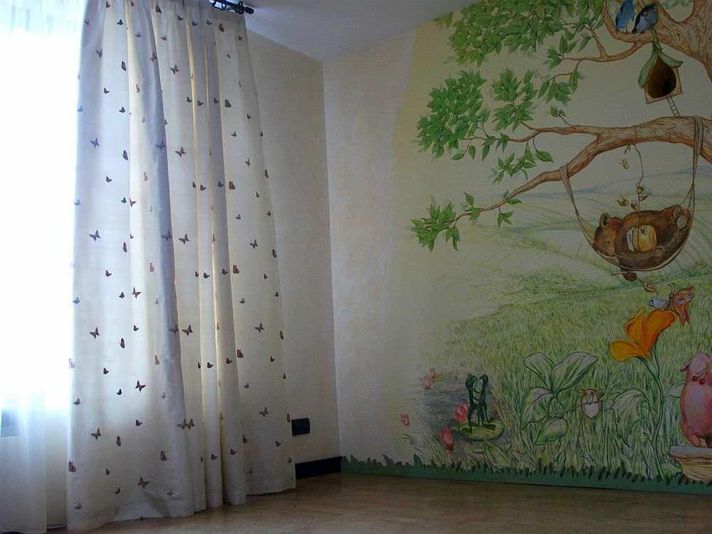 Наиболее органично шторы из натуральной ткани смотрятся в спальне, детской, гостиной