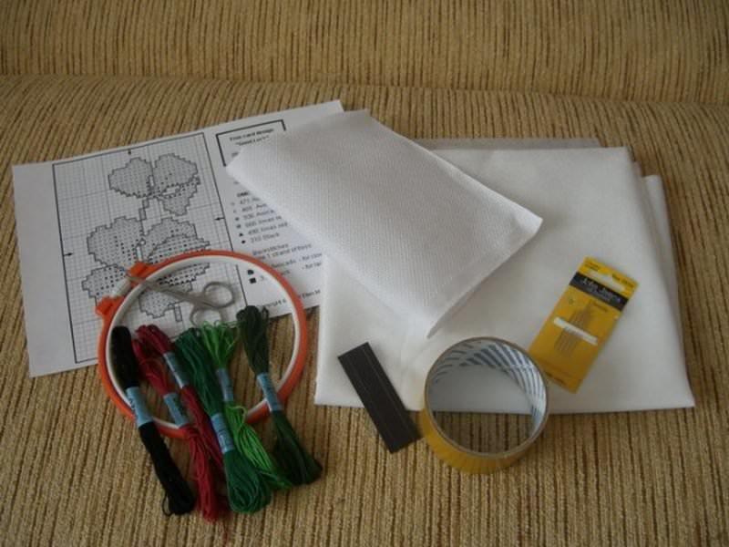 Схемы для вышивки для кухни: крестом, вязание крючком своими руками, наборы, выкройки, мастер класс