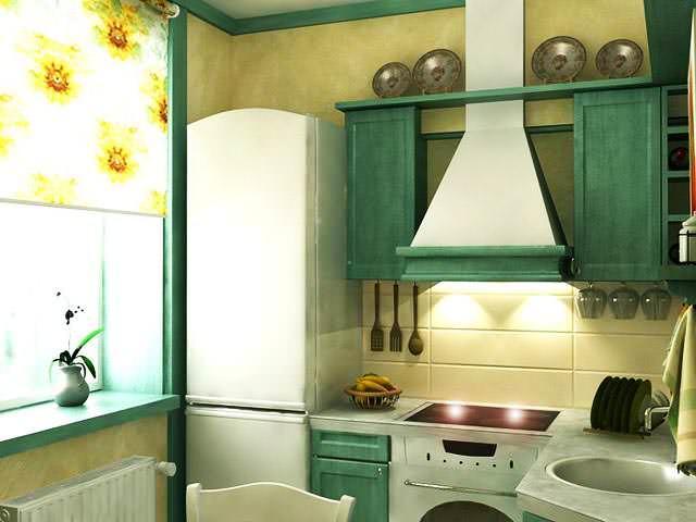 Правильный проект сделает удобной даже небольшую кухню