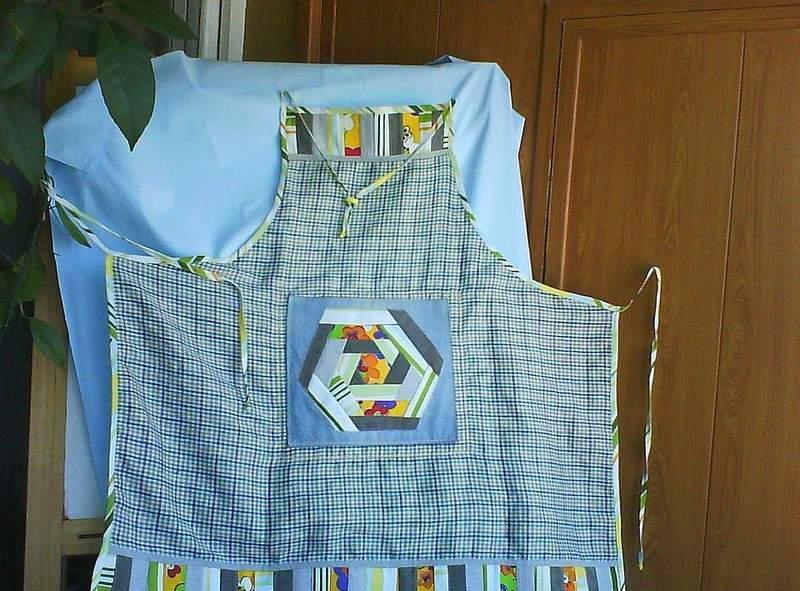 Блоки, выполненные в тиле крейзи, можно использовать для пошива одежды и аксессуаров